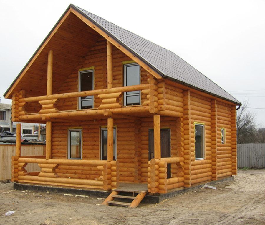 Будівництво дерев яних котеджів в